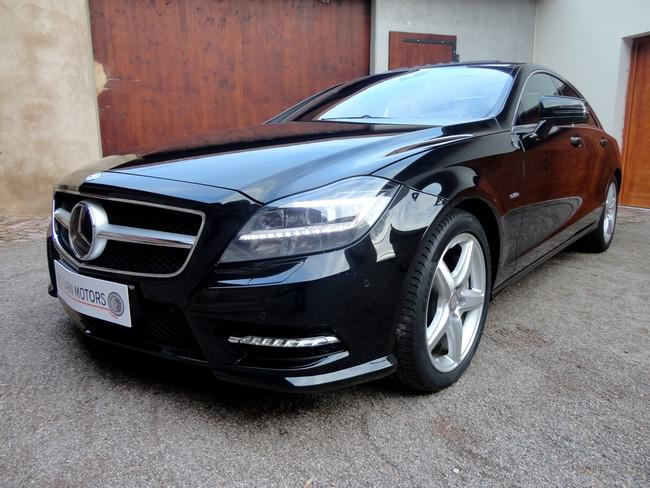 Old Barn Motors Mercedes Cls 500 Blue Efficiency