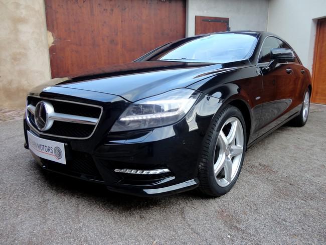 Old Barn Motors Mercedes Cls 500 Blue Efficiency